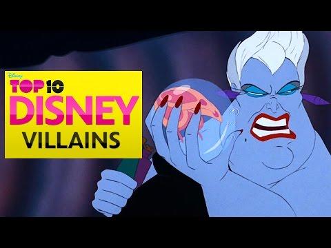 Disney Top 10 Villains