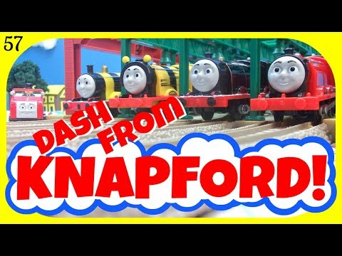 Dash From Knapford 57! Thomas And Friends TrackMaster Racing Competition!