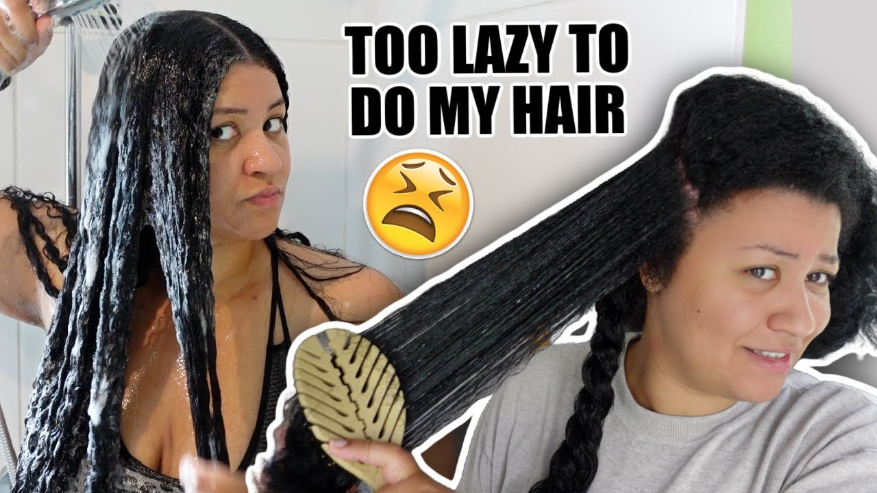 FAST wash day routine for busy (or lazy 👀) naturals! *save your time sis*