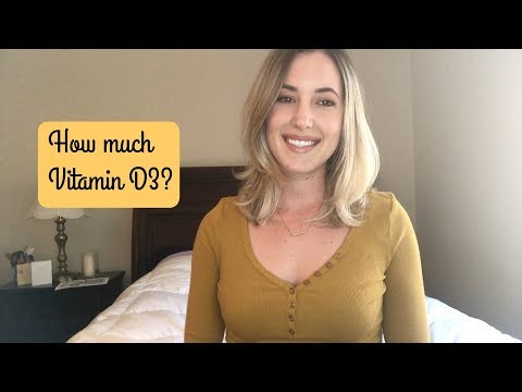 How Much Vitamin D3 Should You Take?