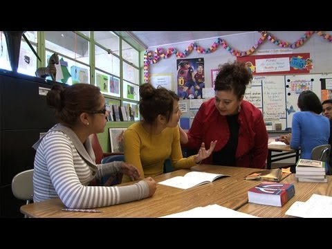 Teacher at Stanford's East Palo Alto Academy Honored