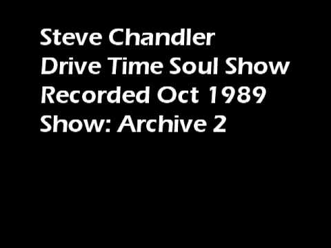 Steve Chandler former Radio Invicta DJ Drive Time Soul Oct 1989