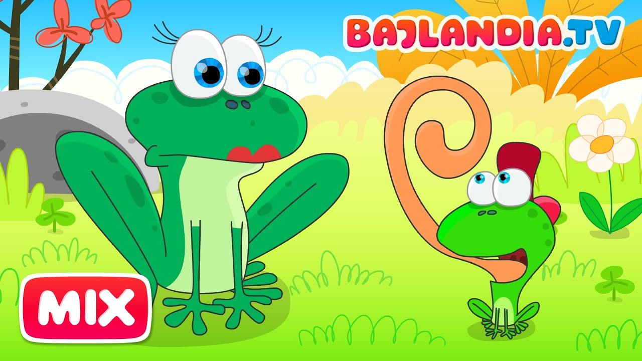 Była Sobie żabka Mała Piosenki Dla Dzieci Bajlandiatv Zestaw 9 Piosenek