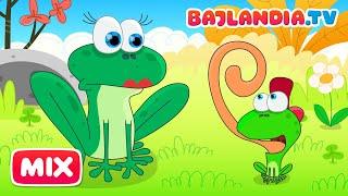 Była sobie żabka mała - piosenki dla dzieci bajlandia.tv - ZESTAW 10 piosenek thumbnail