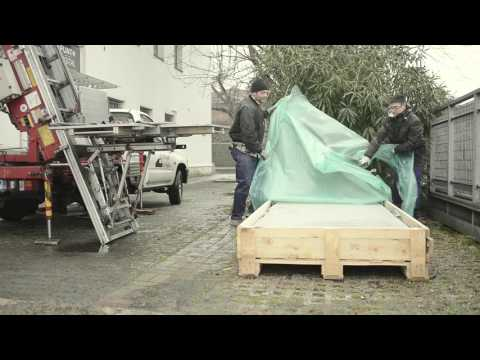 Mirage Large Slabs Tutorials How to transport large format tiles