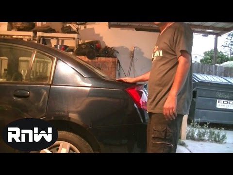 How to Replace Rear Shocks - 2006 Saturn ION