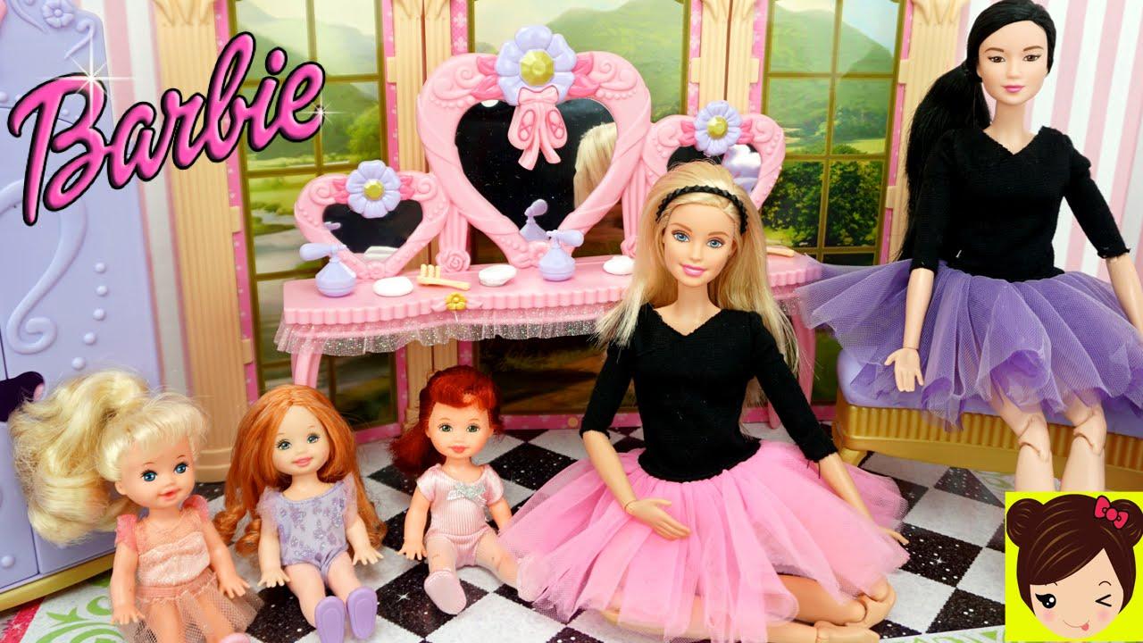 La Bebes de Elsa Ana y Princesa Ariel toman Clase de Ballet con ...