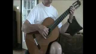 A La Nanita Nana -  Classical Guitar - Amateur accoustic music piece