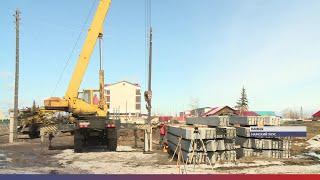 Строительство нового Дома культуры началось в селе Намцы
