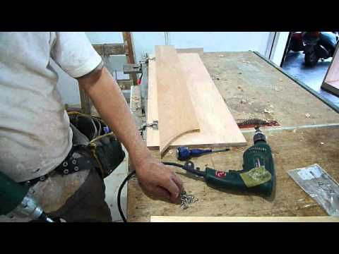 木工�潢�場(木工櫃)-如何製作與�掛木工櫃的門片?