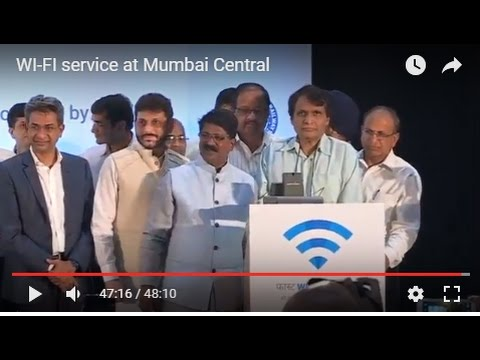 WI-FI service at Mumbai Central