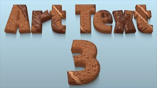 Art Text 3 - Geniale 3D Schriften erstellen