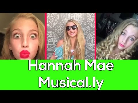 Top 50 Hannah Mae Musical.ly Compilation | Best Musical.ly Compilation 2016 hmddancer722