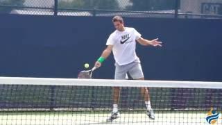 Juan Martin Del Potro Slow Motion Forehand, Backhand & Serve 240FPS 1080p
