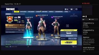 Fortnite New skins update!! Dark vanguad & bunny brawler Road to 2500 subs!!!