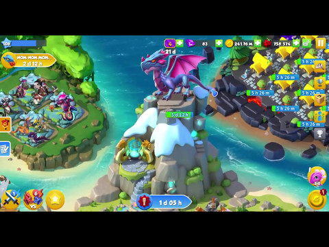 Dragon Mania Legends: How To Change Your Account! Thay đổi Tài Khoản Trong DML!
