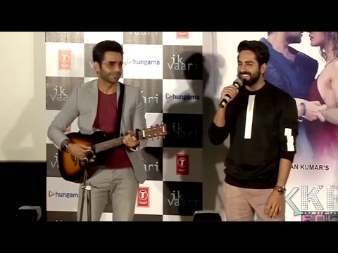Ayushman with Brother Aparshakti Singing IK VAARI Song