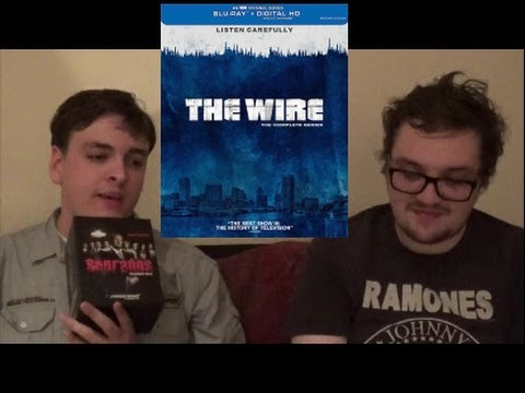 Reviews of The Sopranos and The Wire full Blu Ray Boxsets and the aspect ratio controversy