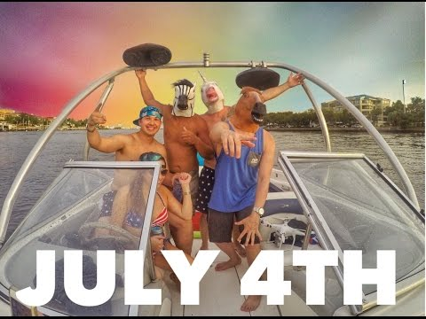 JULY 4TH BOAT SESSION IN TAMPA BAY