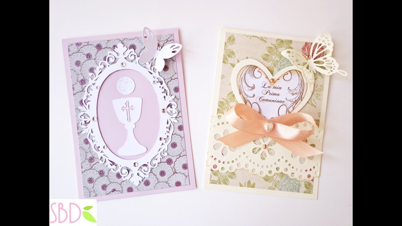 Inviti Per Prima Comunione Fai Da Te First Communion Invitations