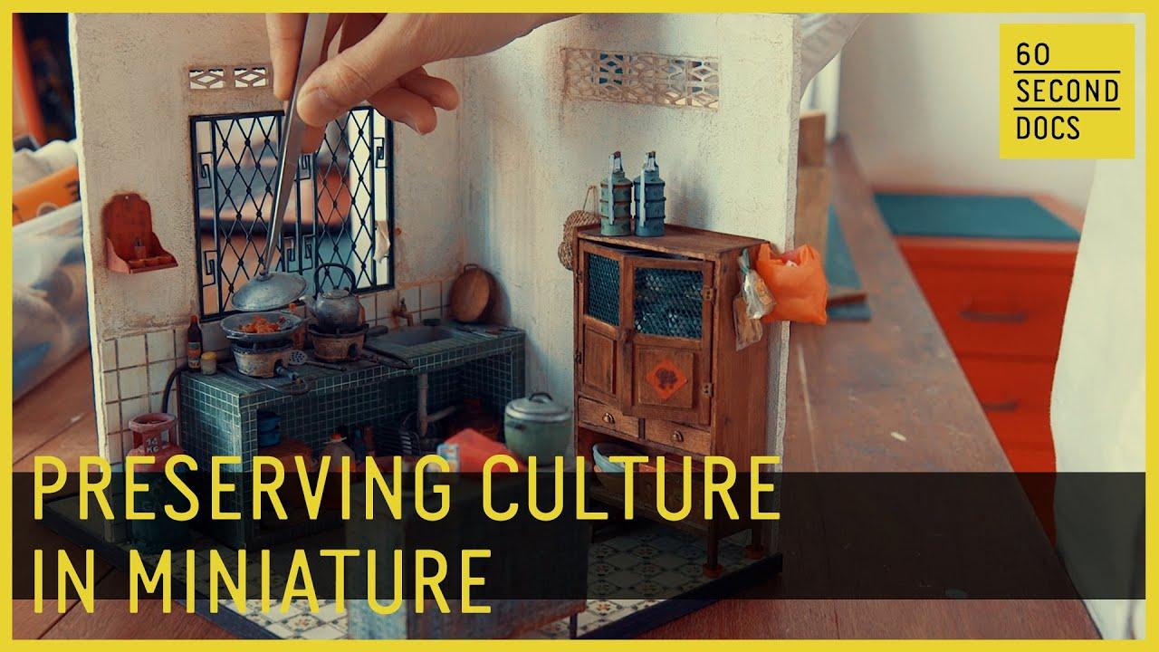 Miniature Art Preserves Her Culture