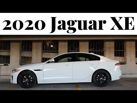 Reviewing the refreshed 2020 Jaguar XE luxury sedan