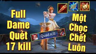 [Gcaothu] Astrid Full dame ăn 17 mạng chọc phát chết luôn - Team địch bất lực vì quá khỏe