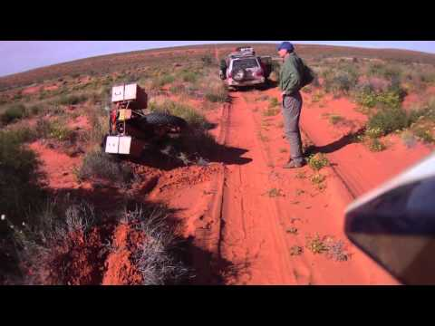 Adventure Motorcycle Simpson Desert Part 1 of 2