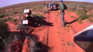 Adventure Motorcycle Simpson Desert Part 1 of 2