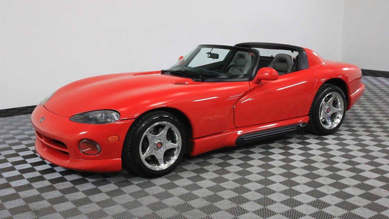1994 Dodge Viper Red