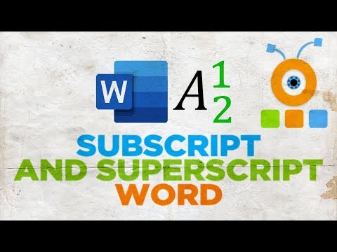 How To Type Subscript And Superscript In Word For Mac | Microsoft Office For MacOS