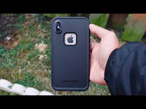 Lifeproof FRE iPhone XS Max Case Review/Unboxing