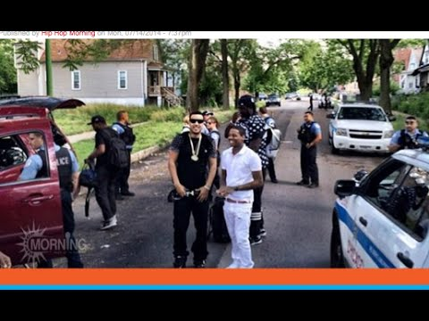 Chicago Police Stop French Montana And Lil Durk For A drug search