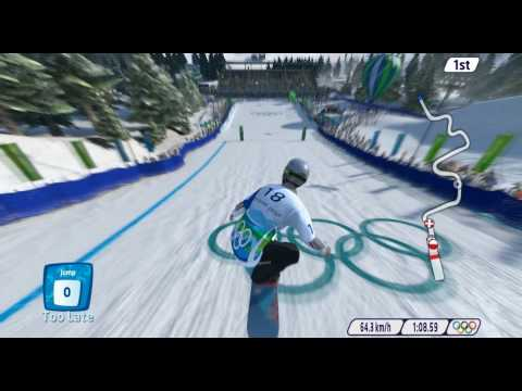Vancouver 2010: The Official Video Game of The Olympic Winter Games Gameplay