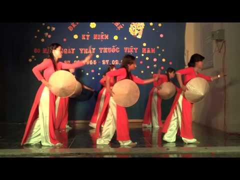 Múa bài hát Thương quá Việt Nam - Chi Đoàn Phòng Y tế 2015