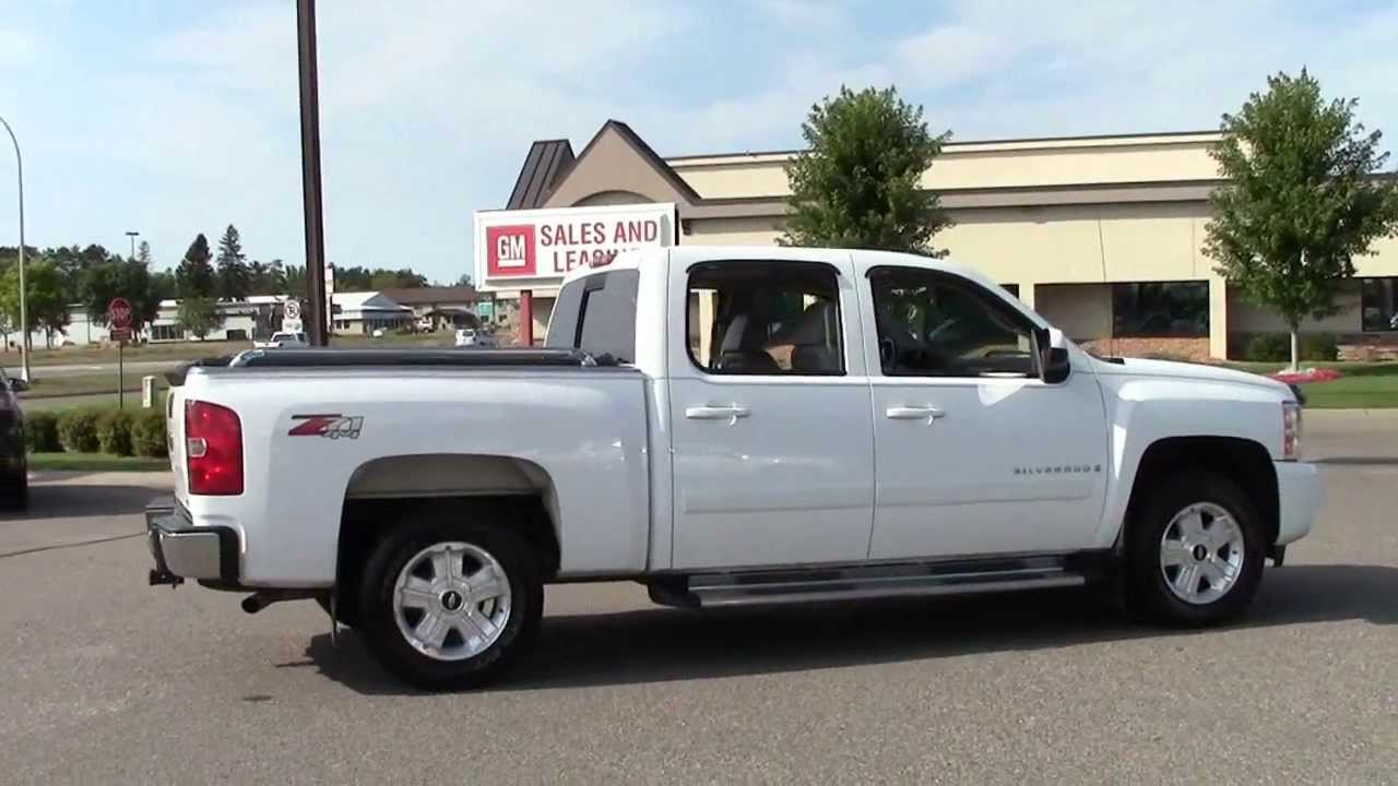 2008 chevrolet silverado 1500 ltz crew cab 4wd youtube. Black Bedroom Furniture Sets. Home Design Ideas