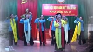 Bài hát GỬI NGƯỜI LÍNH ĐẢO Văn nghệ chào mừng ngày đại đoàn kết toàn dân khu 2 TT Q côi