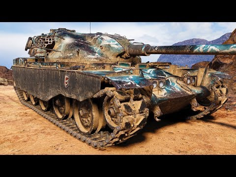 T95/FV4201 Chieftain - THE DAMAGE KING - World of Tanks Gameplay