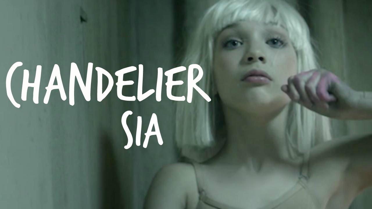 Chandelier (Sia) - Acoustic Piano Karaoke - YouTube