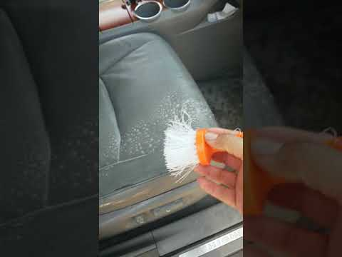 How to clean leather car seats cheap and fast