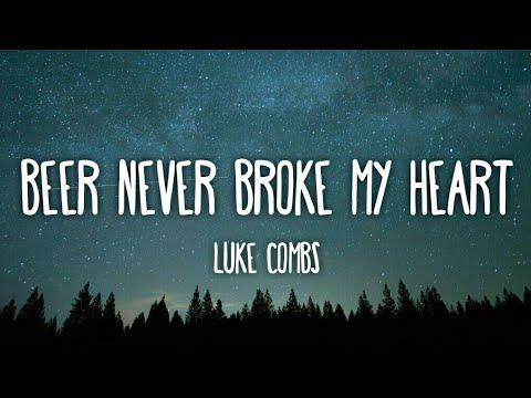 luke-combs---beer-never-broke-my-heart-(lyrics)