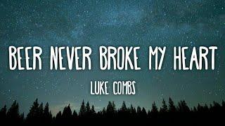 Download Luke Combs - Beer Never Broke My Heart (Lyrics)