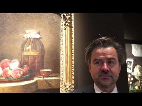 Eric Coatalem about Chardin. TefafNY.2016.
