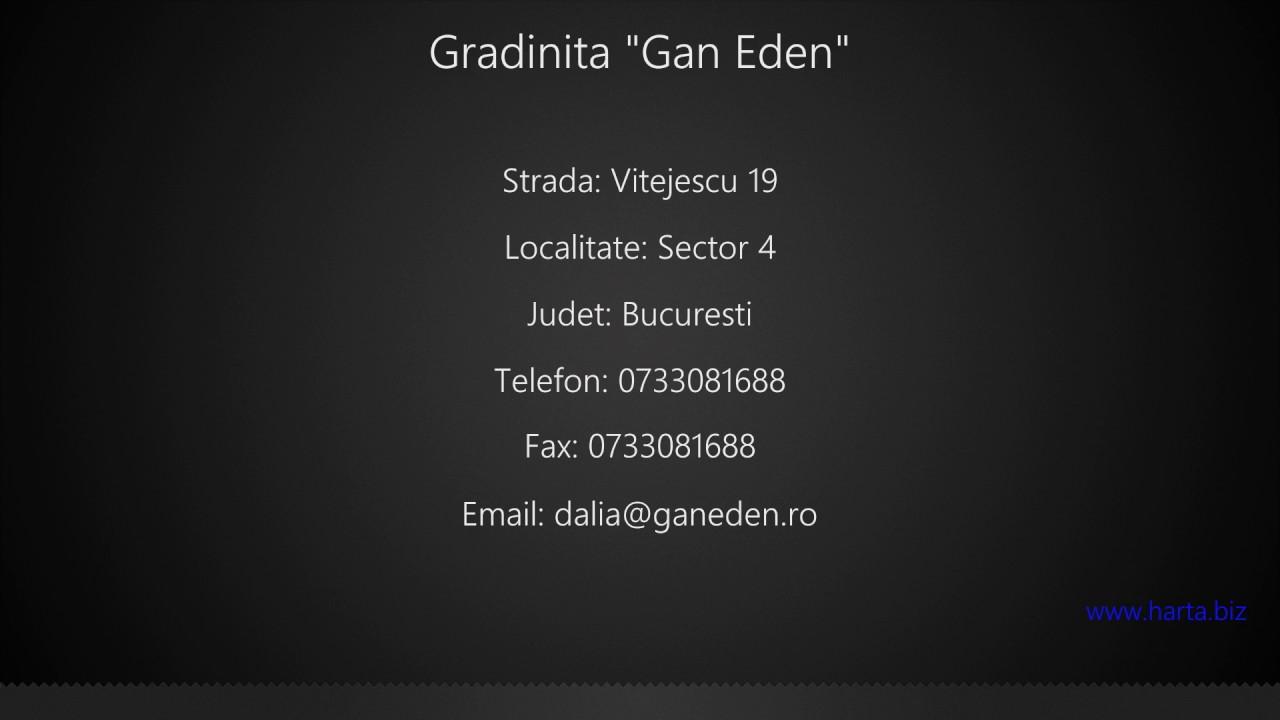 Gradinita Gan Eden Sector 4 Youtube
