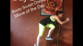 Day 2: Move of the Day: BenderFitness Booty Sculpt Challenge: Elevated Single Leg Squat