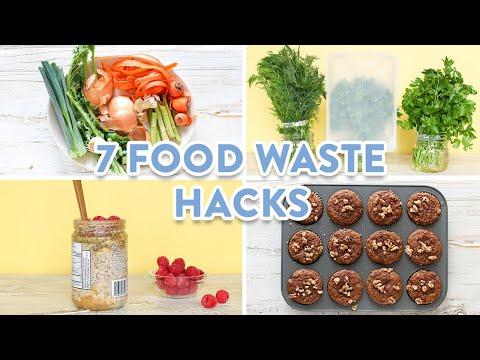 7 MUST KNOW Food Waste Hacks