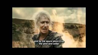 The Tempest  - Prospera relinquishes her magic - Helen Mirren