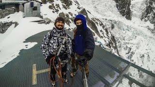 Mont Blanc. Attempt of winter climb / Спроба зимового сходження