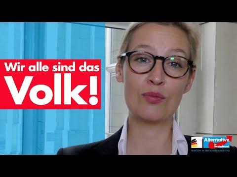 Weidel: Das Volk ist der Souverän! - AfD-Fraktion im Bundestag