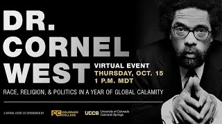 An Afternoon with Cornel West